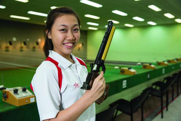 Shooter Teh Xiu Yi Wins Second Medal for Singapore at Nanjing 2014 Youth Olympic Games - Alvinology
