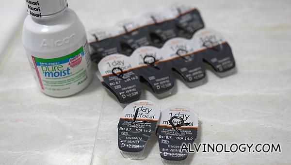 Alvin's mum's verdict on presbyopia contact lenses! - Alvinology