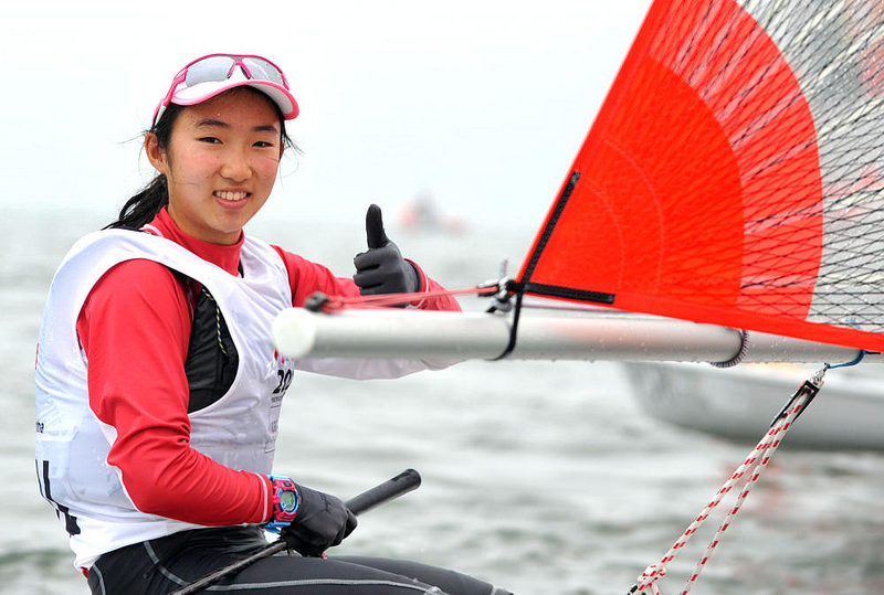 Sailors Samantha Yom and Bernie Chin Win First Two Youth Olympic Gold Medals for Singapore in Nanjing