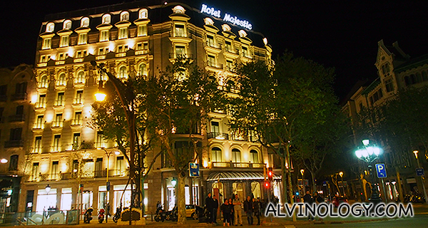 Barcelona with Qatar Airways – Staying at Majestic Hotel & Spa Barcelona and Shopping at La Roca Village