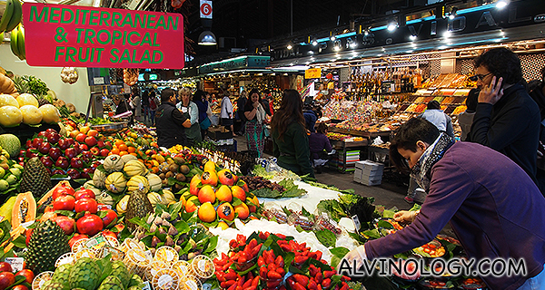 Barcelona with Qatar Airways – La Boqueria Market and La Rambla