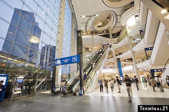 Shopping in Bangkok – Terminal 21