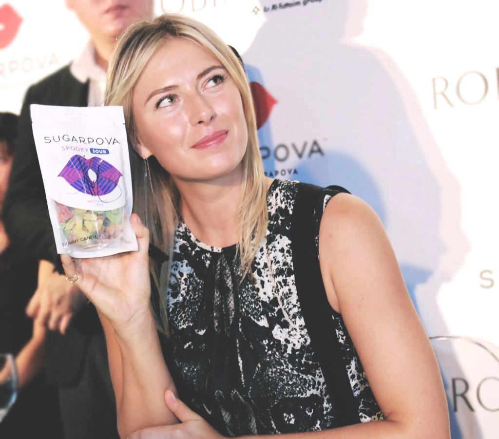 World Tennis Star Maria Sharapova launched Sugarpova in Singapore