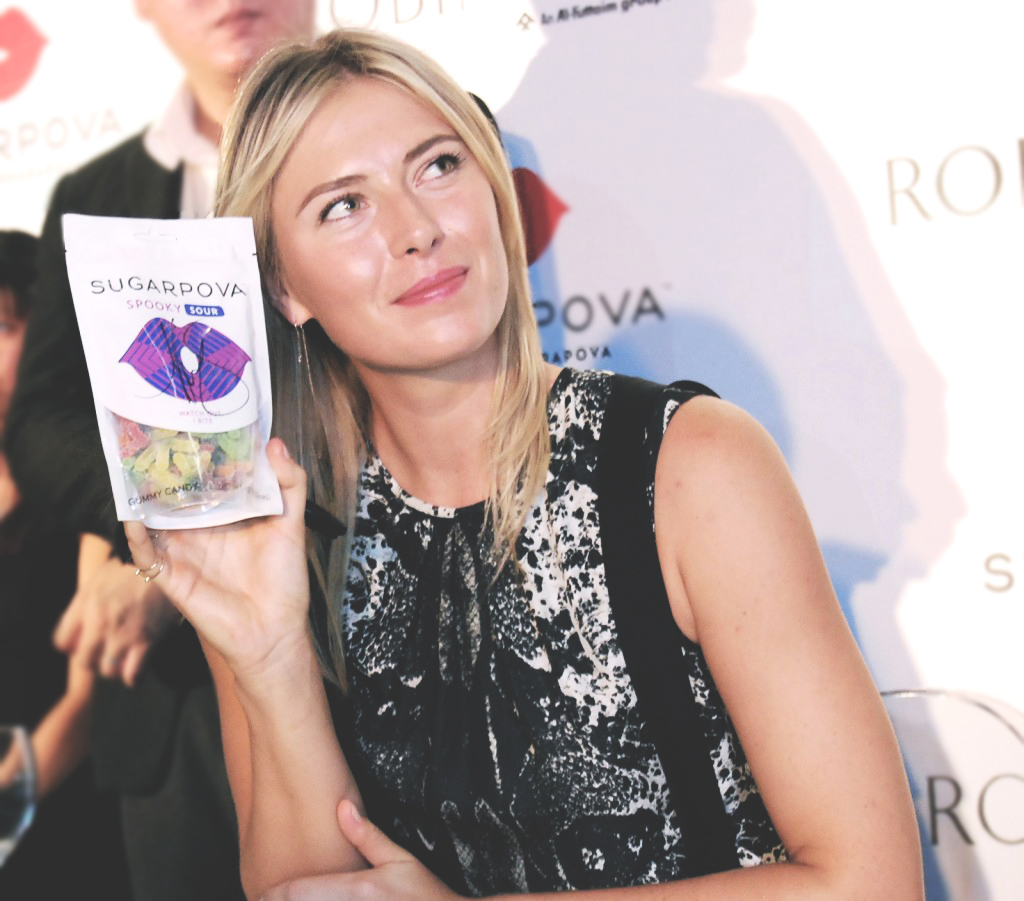 World Tennis Star Maria Sharapova launched Sugarpova in Singapore - Alvinology