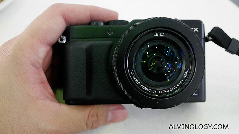 The new Panasonic LUMIX DMC-LX100