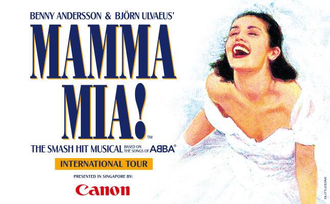MAMMA MIA! Gala Premiere at MasterCard Theatres, Marina Bay Sands