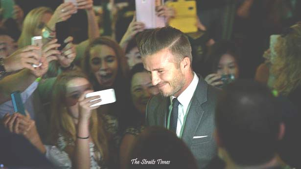 Marina Bay Sands Lights Up for Early Christmas With David Beckham - Alvinology
