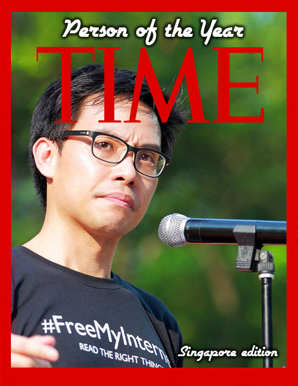 Time Person of the Year 2014 (Singapore Edition)