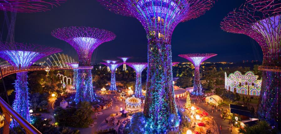 Christmas Countdown Checklists at Gardens By The Bay