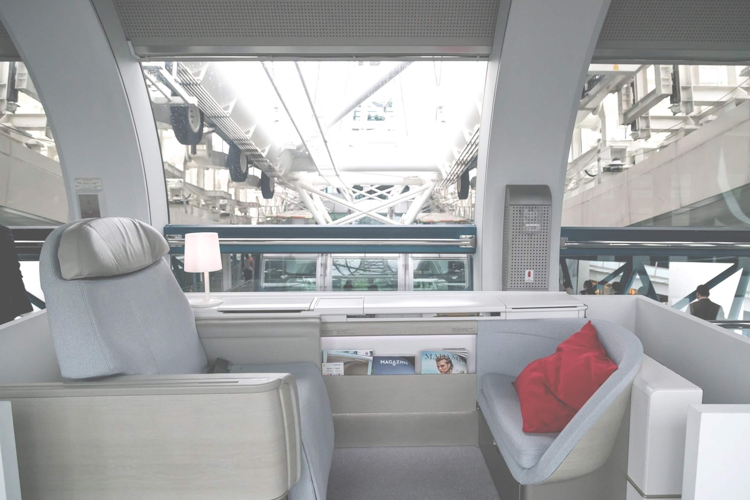 """Air France Debuts Its First Class """"La Premiere"""" Suite"""