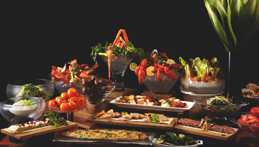 One-Ninety @ Four Seasons Hotel Singapore: Launch of New Mezze Dinner Buffet