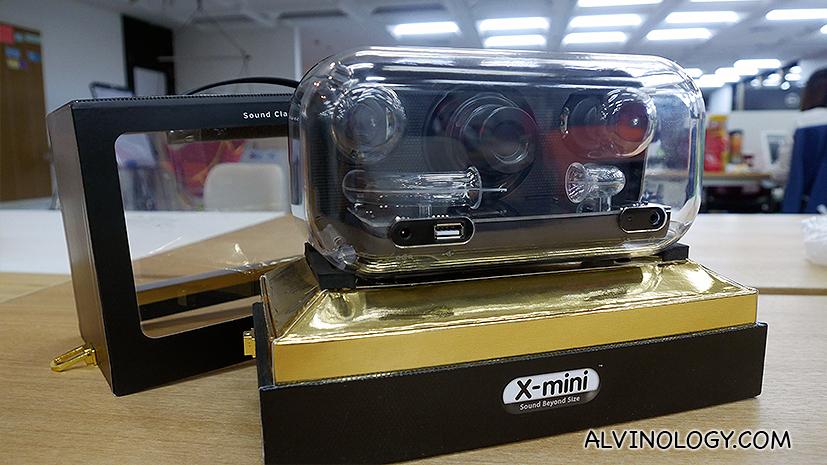 X-mini Clear: X-mini Upsized - Alvinology