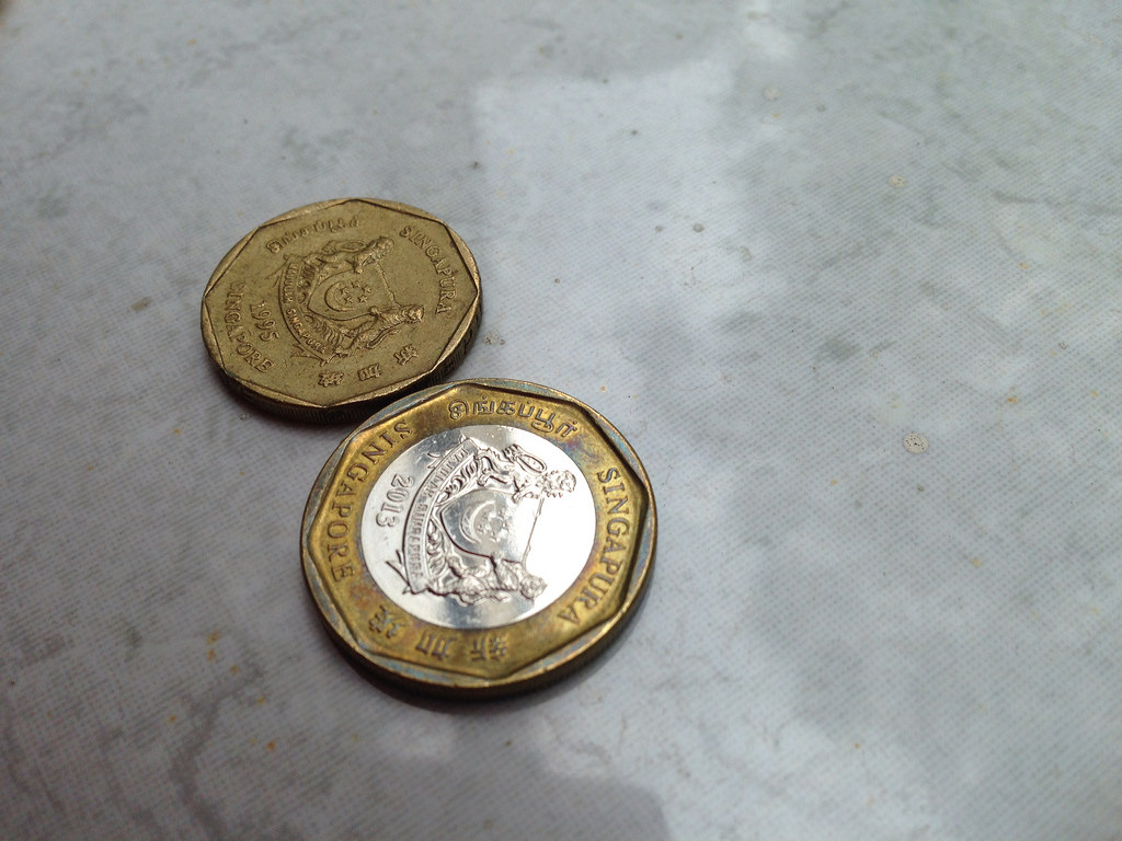 #TheyAllSay Singapore's $1 coin is a Chinese ba gua - Alvinology