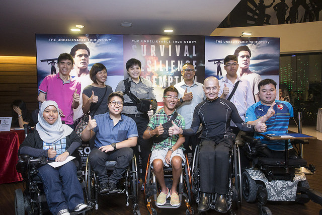 Movie 'Unbroken' touches Singapore's top para athletes