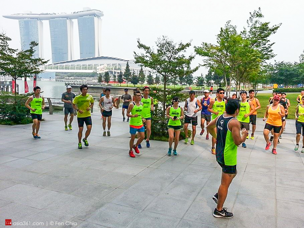 NTUC Income Run 350 Running Clinic - Alvinology