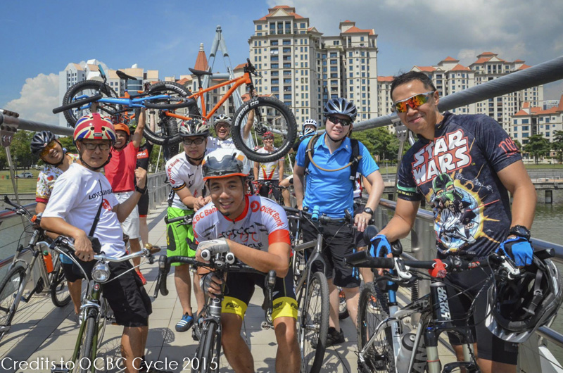 """Wheel"" of a Time: OCBC Cafe Bike Crawl"