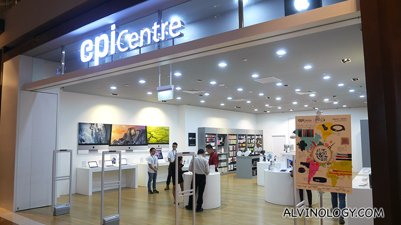 How Apple Premium Reseller Store, EpiCentre stays ahead of the game in delivering Service Excellence - Alvinology