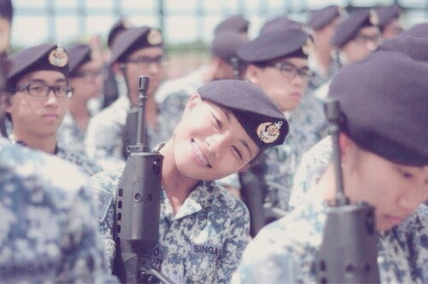 ME1 Clarie Teo is making me love the Singapore Navy