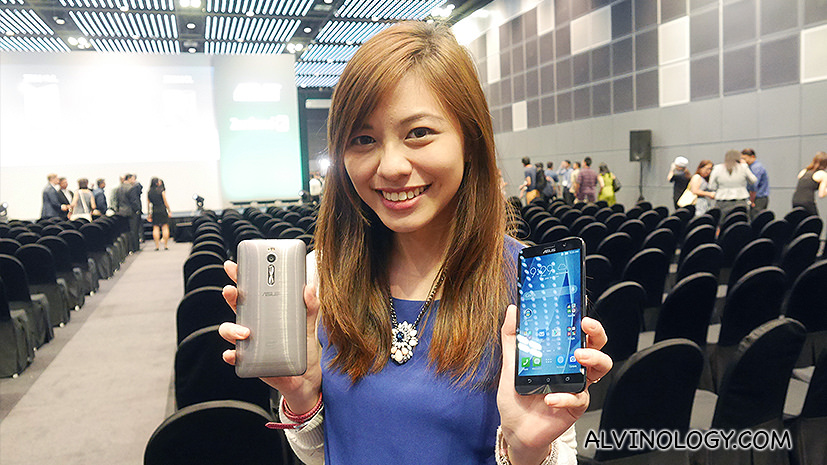 ASUS ZenFone2 Launch in Singapore