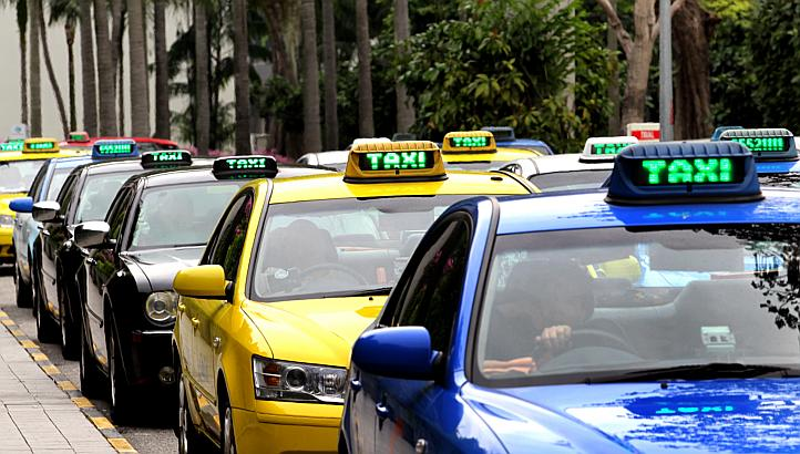 View the location of Available Cabs & Taxis in SG