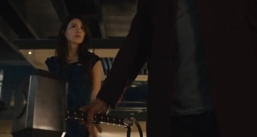 Who is that token Asian girl in Avengers: Age of Ultron?