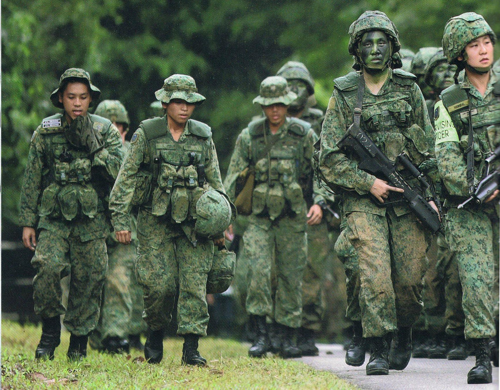 "Singapore Armed Forces Volunteer Corps' 2-Weeks ""Holiday Camp"""