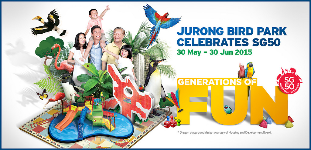 Generations of fun for the whole family at Jurong Bird Park