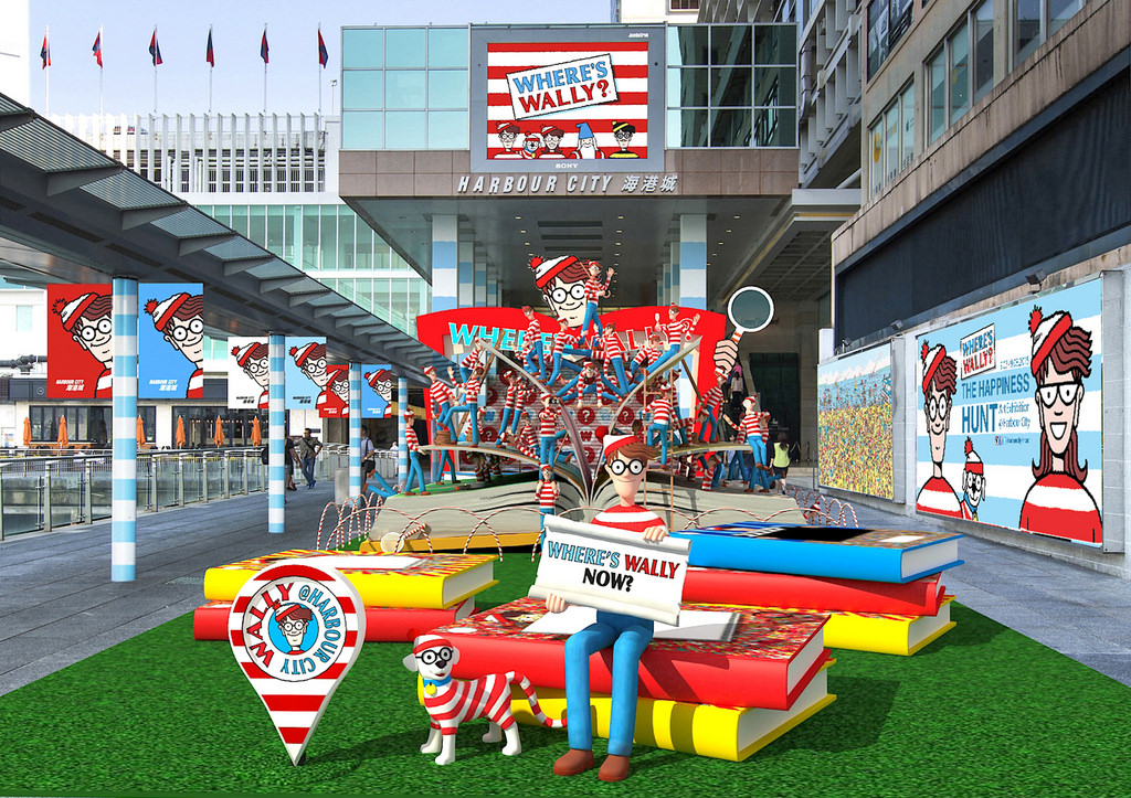 The Happiness Hunt – Where's Wally? Art Exhibition @ Harbour City