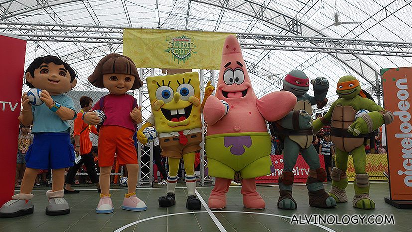 School's out! Kids can head to Clarke Quay to party with Nickelodeon this weekend!