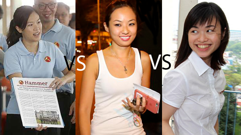 Is He Ting Ru WP's secret weapon against PAP's Tin Pei Ling and NSP's Kevryn Lim? - Alvinology