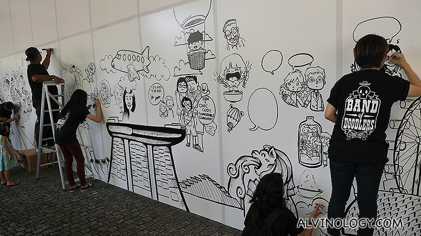 Hotel Jen Tanglin Singapore X Band of Doodlers