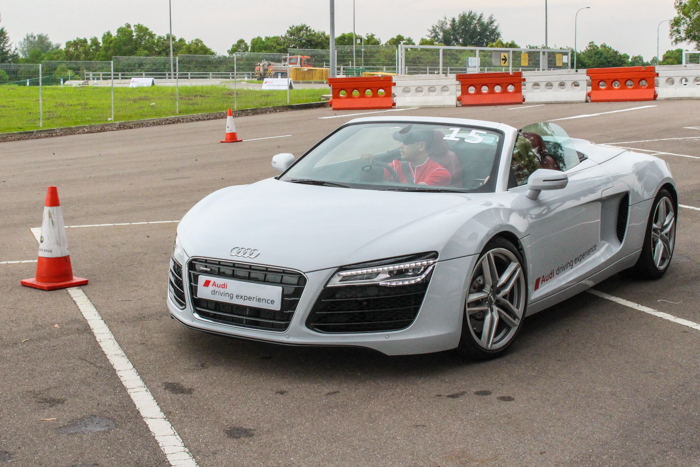 An Awesome Driving Experience with Audi