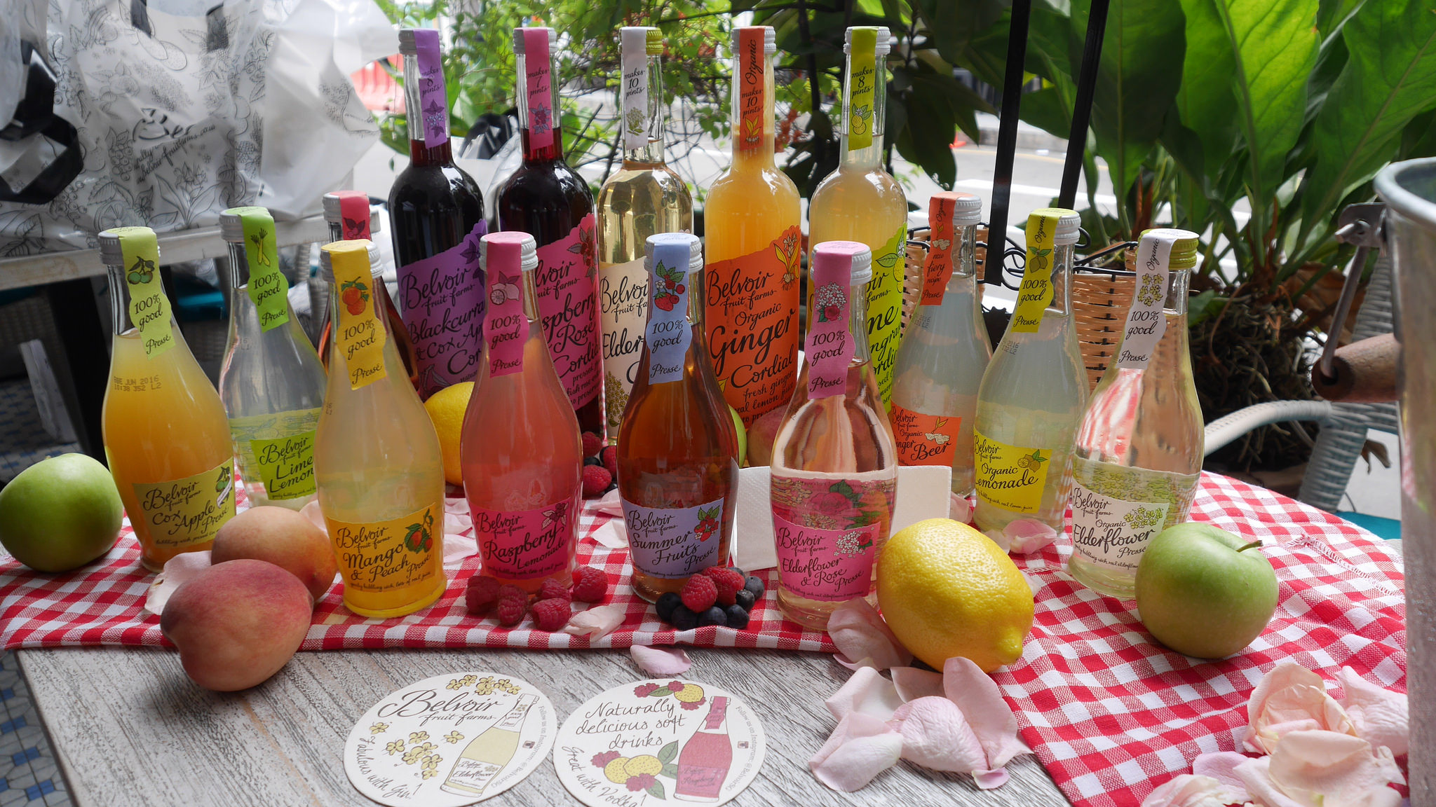 Belvoir Fruit Farms – where summer is put inside bottles