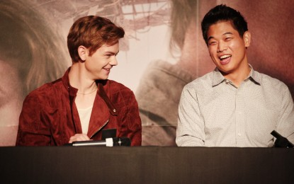 Thomas Brodie-Sangster and Ki Hong Lee of Maze Runner Meet Fans in Seoul