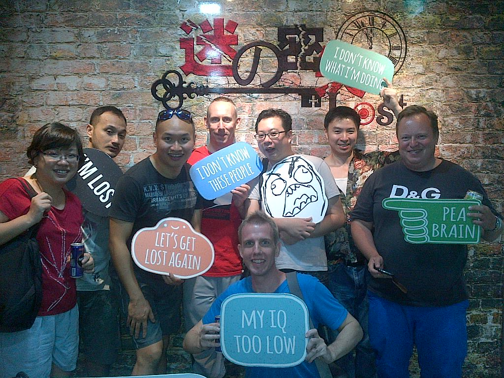 Lost.sg – the Escape Room adventure begins