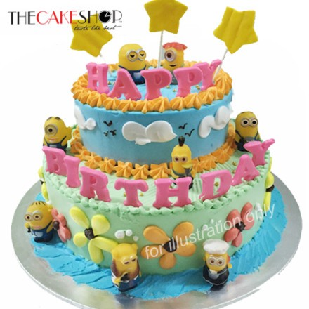 Free Delivery For All Birthday Cakes From FoodLine.SG
