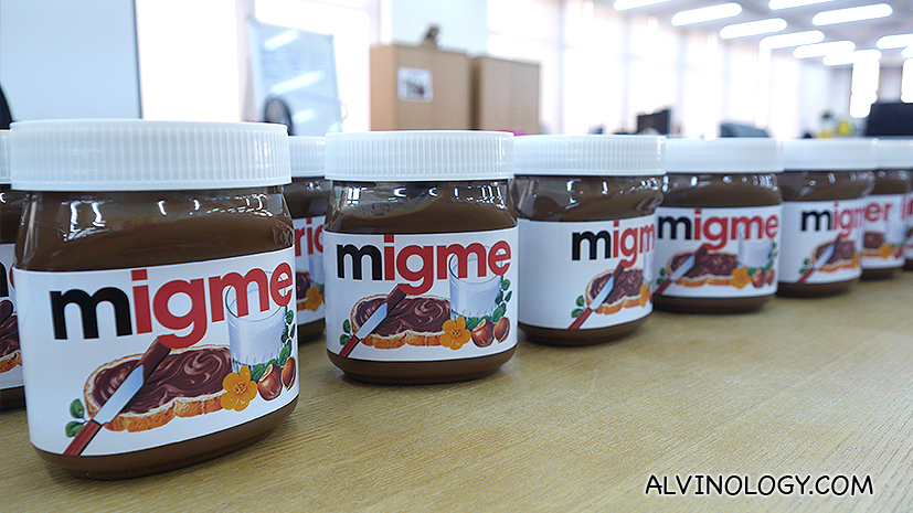 How to get your own customised Nutella