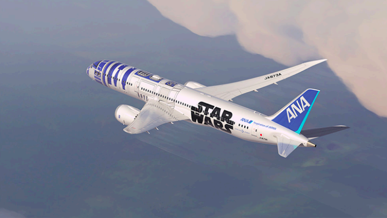 Win a Chance to See the R2-D2 ANA Jet in Singapore