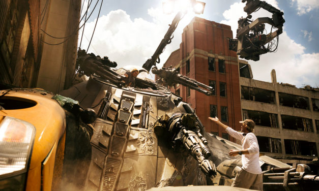 Behind The Scene and First Look at Transformers: The Last Knight