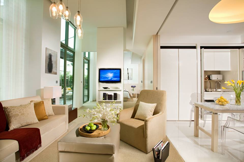 Do you know there are serviced apartments inside Grand Copthorne Waterfront Hotel Singapore?
