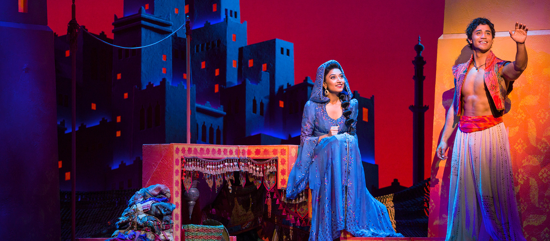 Aladdin Musical Shines and Dazzles on Stage, Literally and Metaphorically - Alvinology