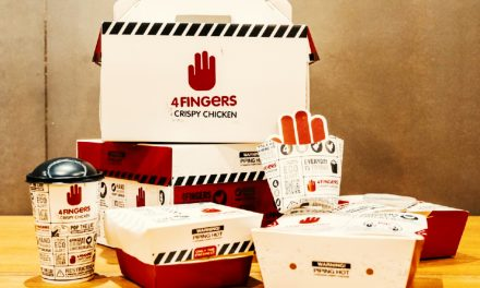 4FINGERS rolls out sustainable packaging because with great food comes with great responsibility