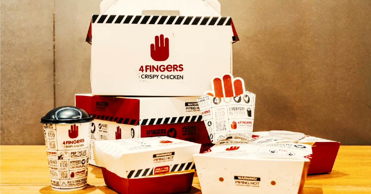 4FINGERS rolls out sustainable packaging because with great food comes with great responsibility - Alvinology