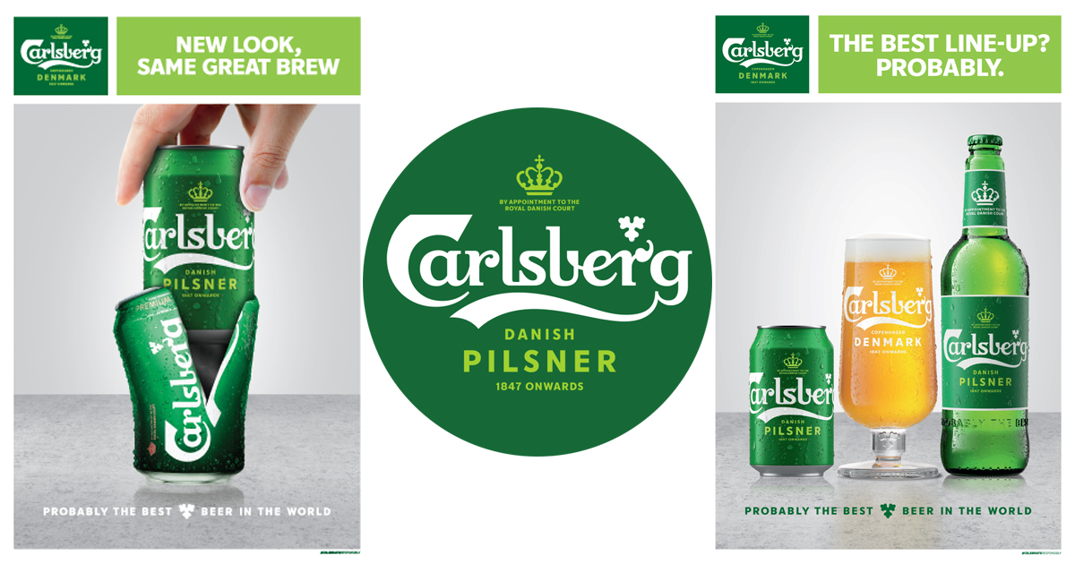 Carlsberg introduces sustainable new look and offers a FREE Pint of Beer this 15 – 25 August