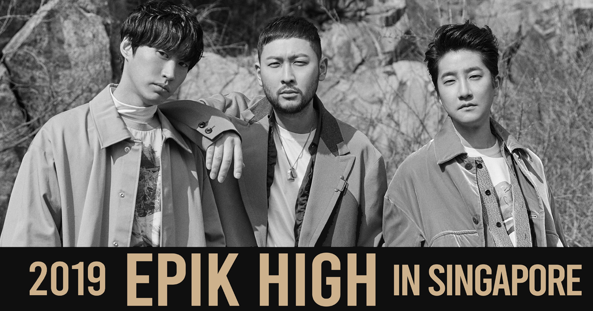 EPIK HIGH – enter the world of South Korean alternative hip hop at Hard Rock Hotel Singapore this 14 September