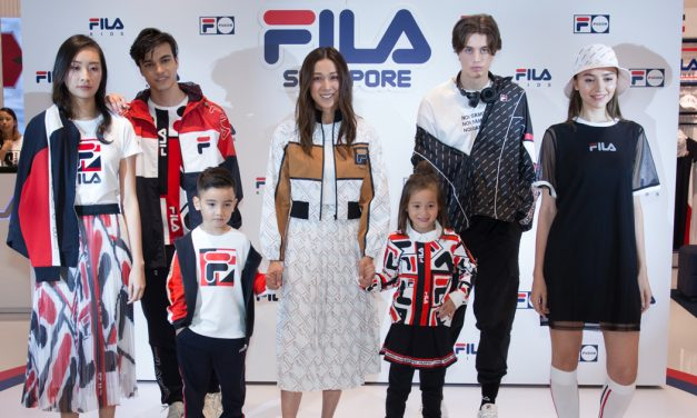 FILA opens its Largest Store at Jewel Changi Airport with exclusive Merchandise from FILA and FILA Fusion