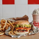 FIVE GUYS – American cult-favourite burger – is opening its first Singapore outlet at Plaza Singapura