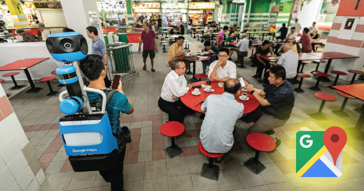 114 hawker centres in Singapore will be documented on Google Maps Street View by early 2020 - Alvinology