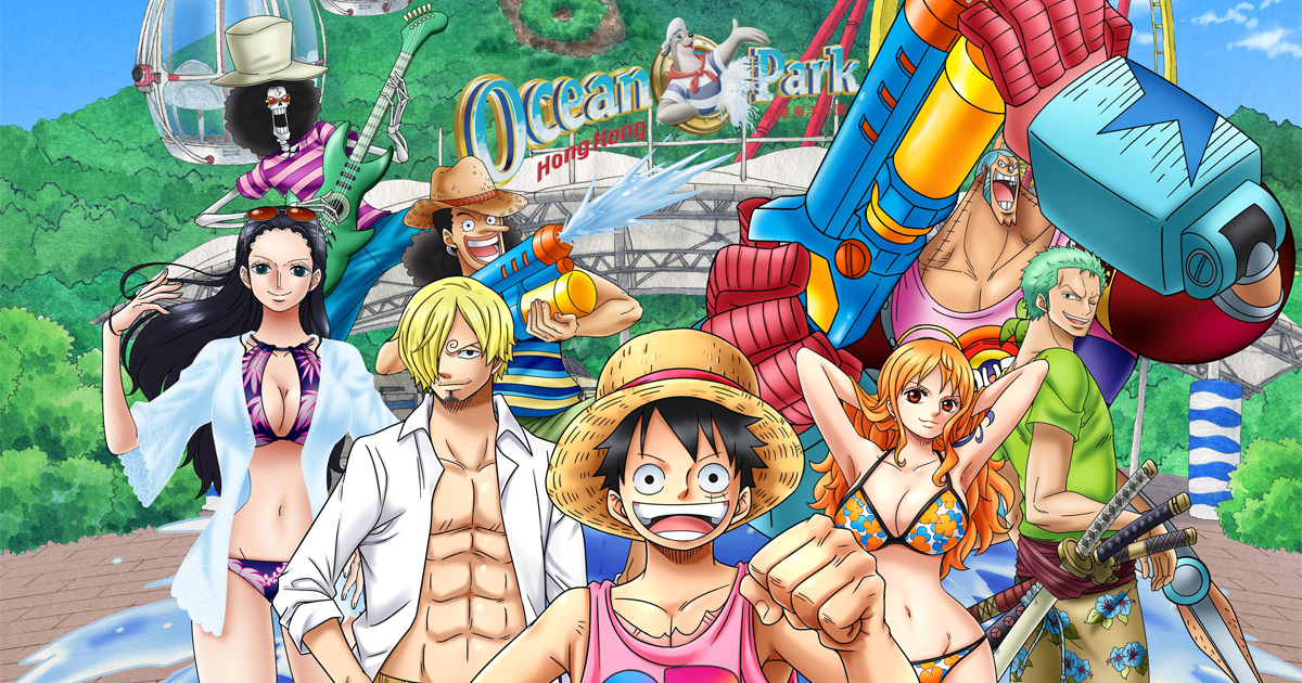 Don't Miss: Hong Kong's largest ever One Piece event happening at Ocean Park Hong Kong