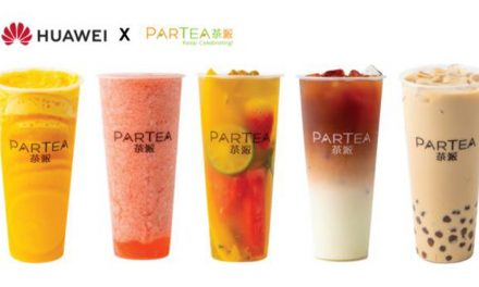 Huawei is giving away free cups of Partea premium tea over two weekends this month starting 5 July